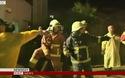 Máy bay Đài Loan bốc cháy trước khi lao xuống 2 ngôi nhà