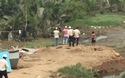 Truy bắt tên trộm ẩn giữa đầm lầy trên đại lộ Mai Chí Thọ