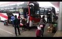 Người dân rời thành phố Đà Nẵng về quê ăn Tết