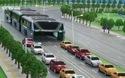 Xe bus siêu độc chống tắc đường ở Trung Quốc