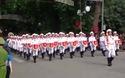 8h45' chương trình mít tinh, diễu binh, diễu hành chào mừng kỷ niệm 70 năm Quốc khánh kết thúc.