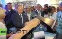 """Tổng thống Putin ấn tượng với """"chiếc rìu bay"""" tại triển lãm MAKS-2015"""
