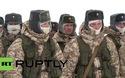 Binh sĩ Nga tập trận giữa thời tiết khắc nghiệt ở Bắc Cực