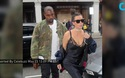 """Kim Kardashian """"vất vả"""" vì váy trễ nải"""