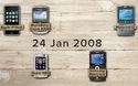 """Quá trình """"tiến hóa"""" của smartphone qua đoạn clip dài 2 phút"""