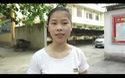 Thí sinh Nguyễn Thị Yến chia sẻ về đề thi môn Sinh học.