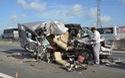Clip hiện trường vụ tai nạn kinh hoàng khiến 4 người chết, 8 người bị thương