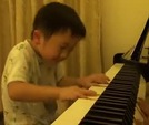 Chong vi clip trnh din piano iu luyn ca cu b 5 tui