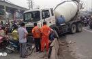 TP HCM: Tài xế xe bồn suýt gây họa lớn vì ngủ gục