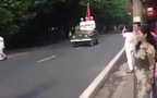 Diễu Binh Quốc Khánh 2/9/2015 - Những người dân thiếu ý thức