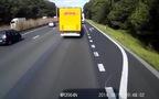 Vượt ẩu, Ô-tô con gặp tai nạn kinh khủng trên cao tốc