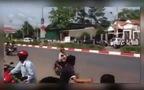 Hiện trường bên ngoài biệt thự vụ Thảm sát 6 người tại Bình Phước