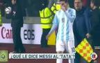 Messi chỉ đạo HLV Tata Martino thay người