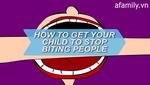 5 bước hạn chế hành động cắn người của bé