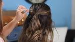 Tết tóc theo hình bong bóng độc đáo