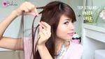 4 kiểu tóc tết thác nước xinh xắn