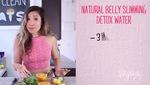 Cách làm nước uống detox giúp vòng bụng phẳng tự nhiên