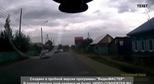 Xe tăng T-72B bất ngờ lăn giữa đường cao tốc