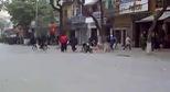 Cảnh sát 113 Nam Định diễn tập bắt giang hồ chém nhau