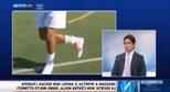 Tân binh mới của AC Milan  Hachim Mastour làm xiếc với trái bóng bàn