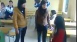Nữ sinh đánh nhau bạo lực 1 chấp 3