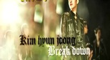 Kim Hyun Joong gi&#224;nh v tr&#237; qu&#225;n qu&#226;n vi hit &quot;Break down&quot;