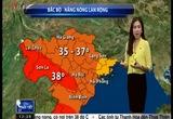 Bản tin thời tiết 12h30 - 26/5/2015