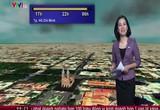 Bản tin thời tiết 6h30 - 01/10/2014