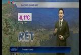 Bản tin thời tiết 19h45 - 22/12/2014