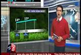 Bản tin thời tiết 11h45 - 31/01/2015