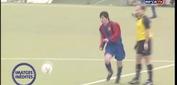 Màn trình diễn chưa từng công bố của Messi ở tuổi 14