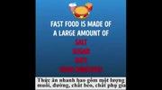 Cơ thể như thế nào nếu bạn ngừng ăn thức ăn nhanh