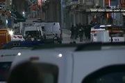Quang cảnh tại khu ngoại ô Saint Denis phía bắc thủ đô Paris của Pháp vào rạng ngày 18/7