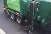 Đây là cách mà xe rác hoạt động tại các nước Châu Âu