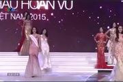 Phạm Hương xuất sắc lên ngôi Hoa hậu Hoàn vũ Việt Nam 2015