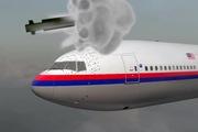 """Clip đồ hoạ mô tả quả tên lửa định mệnh """"kết liễu"""" hành trình của máy bay MH17"""
