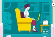 Tư thế ngồi như thế nào là chuẩn khi dùng máy tính?