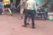 Can ngăn ẩu đả, người đàn ông bị ghế phang vào đầu