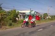 Rước dâu bằng xe ba gác, một phong cách rất Việt Nam