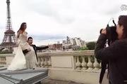 Hậu trường chụp ảnh cưới của Angela Baby và Huỳnh Hiểu Minh