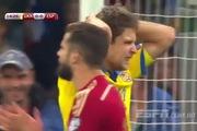 VL Euro 2016: Ukraina 0-1 Tây Ban Nha