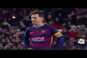 Messi nhăn mặt sau khi Neymar sút hỏng phạt đền