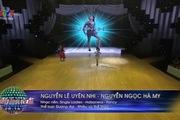 Bước nhảy hoàn vũ nhí: Phần đối đầu của Hà My - Uyên Nhi