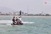 Trò chơi Flyboard bay trên mặt nước tại Nha Trang