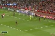 Playoff Champions League: Arsenal 1-0 Besiktas