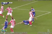 Ngoại hạng Anh 2014/2015: Stoke 0-2 Chelsea