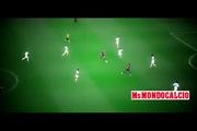 Iniesta kiến tạo tuyệt vời cho Neymar ghi bàn