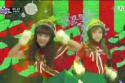 "M! Countdown: ""Lonely Christmas"" - Crayon Pop"