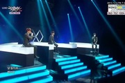 "Music Bank: ""Miracles In December"" - EXO (D.O., Baekhyun, Chen)"
