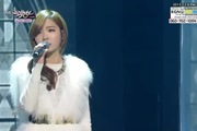 "Music Bank: ""Frozen"" - Shin Bora"